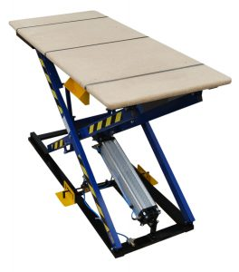 Pneumatic lifting table for upholstery ST-3 Image