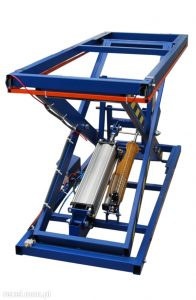 Pneumatic lifting table for upholstery ST-3 / WR Image