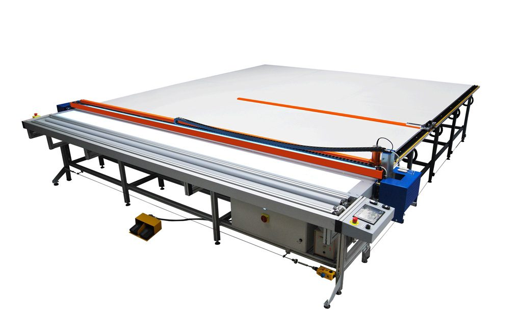 Roller blind cutting table US-2 Image