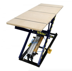 Pneumatic lifting table for upholstery with hydraulic brake system ST-3 / KP Image
