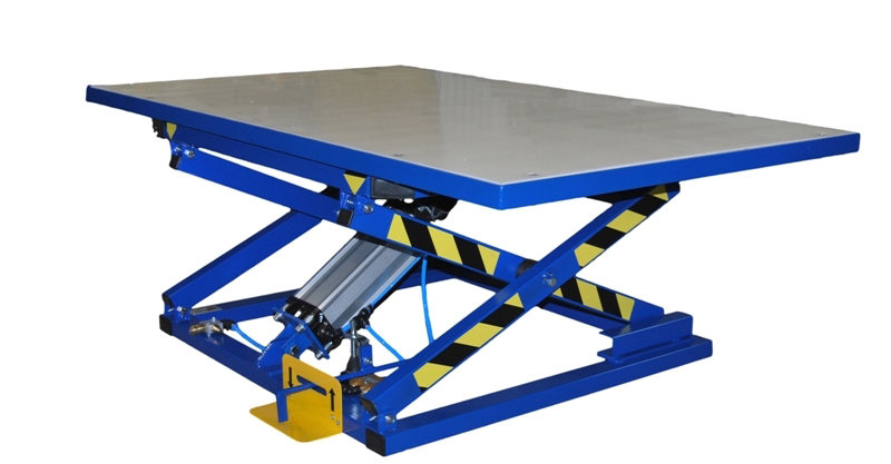 Pneumatic lifting table for upholstery ST-2 / OK Image