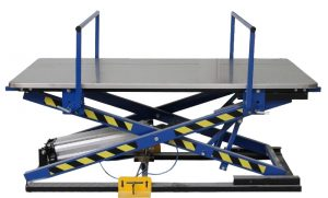 Pneumatic lifting table for upholstery ST-3 / BR Image